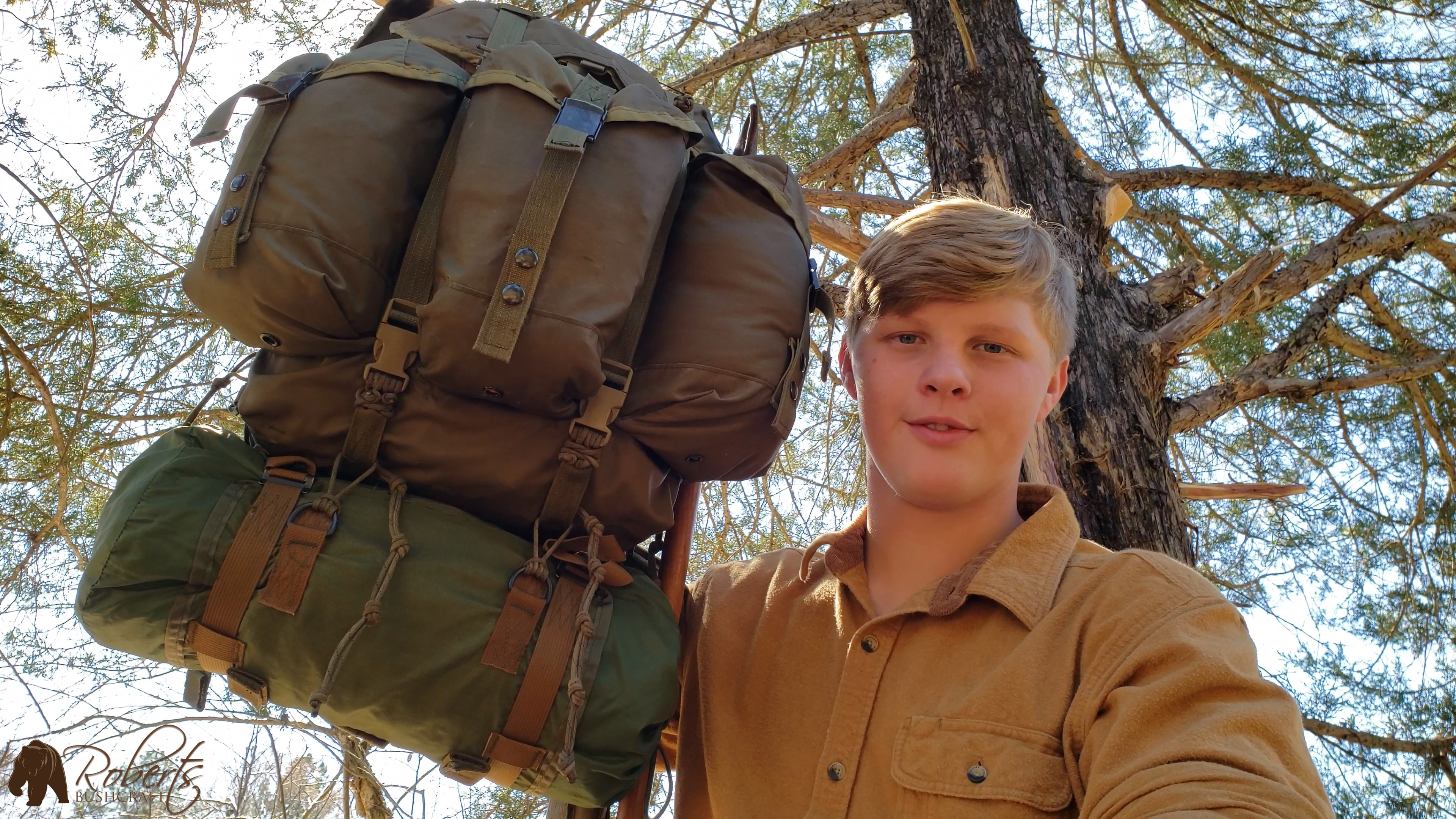 ALICE Pack mods with Viet Nam sleeping bag carrier