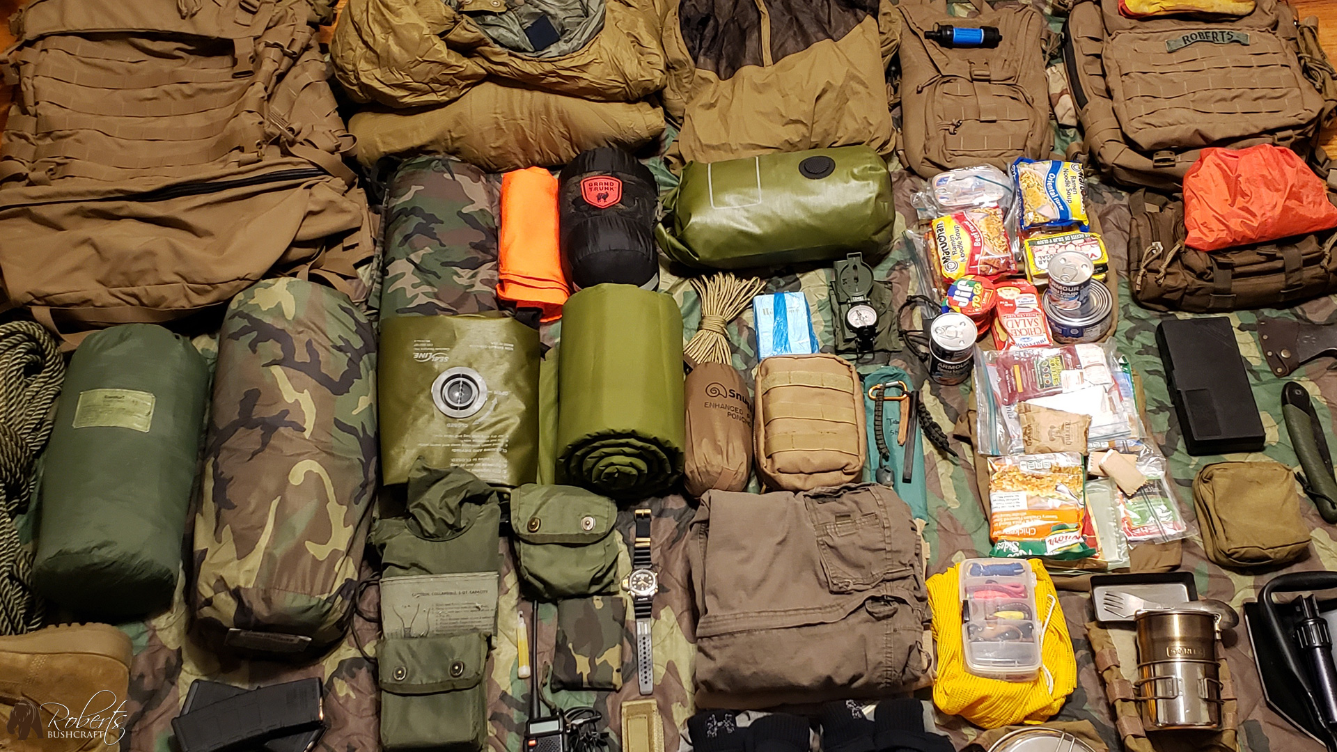 My FILBE Bugout Bag Survival Kit
