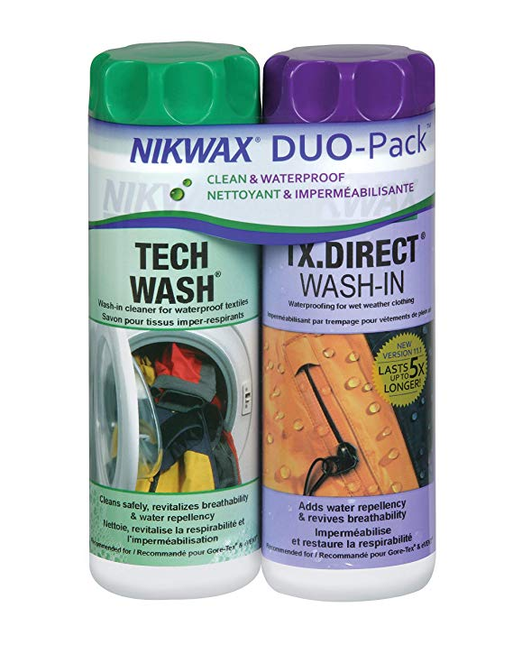 Nikwax Tech Wash and TX Direct Wash-In