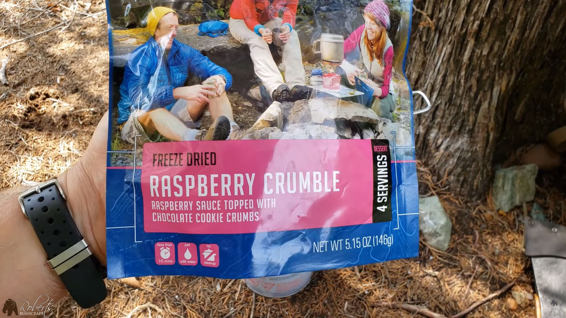 Mountain House Freeze Dried Raspberry Crumble Dessert