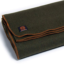 Arcturus Military Olive Green Wool Blanket