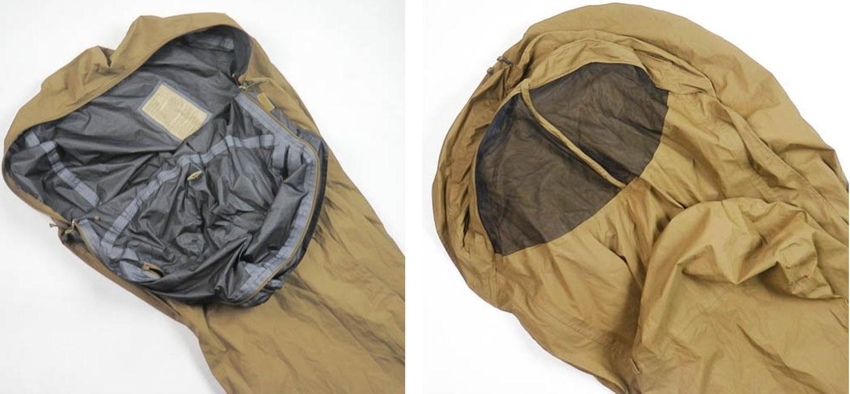 usmc improved 3 season bivy cover coyote brown sleeping bag cover modular sleep system military. Black Bedroom Furniture Sets. Home Design Ideas