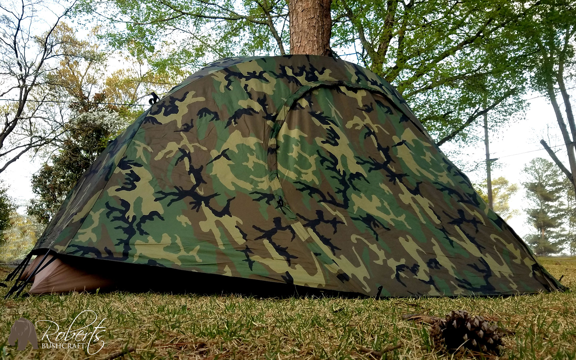 An error occurred. & USMC 2 Man Combat tent testing for leaks in storm - Roberts ...